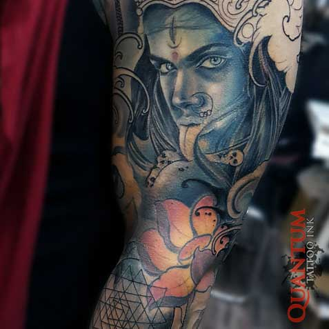 Kali Sleeve Tattoo