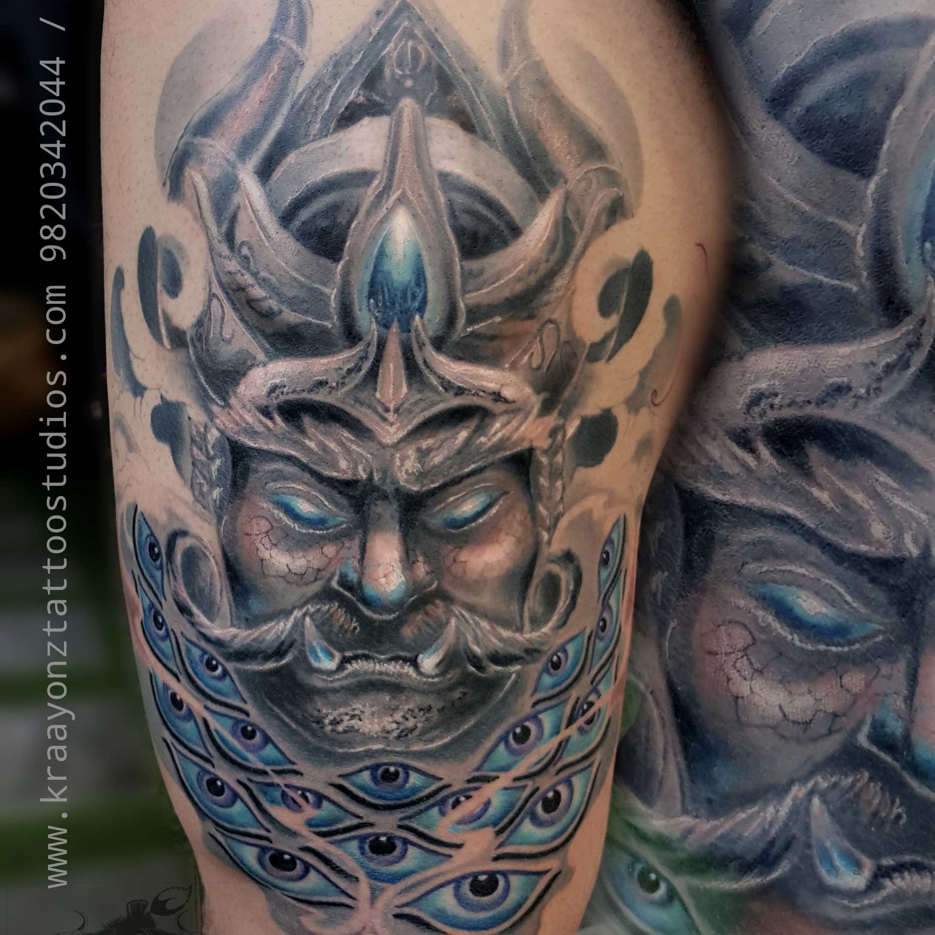 Ravan Tattoo by Sameer Patange